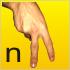El lenguaje de signos/señas